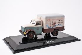 ГАЗ-51 фургон «Пиво» (кабина «Автозавод им. Молотова») - 1953 1:43