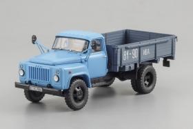 ГАЗ-52-04 бортовой - 1986 - синий 1:43