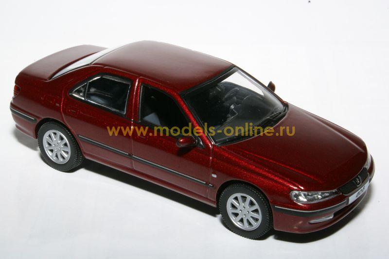 масштабные модели автомобилей peugeot