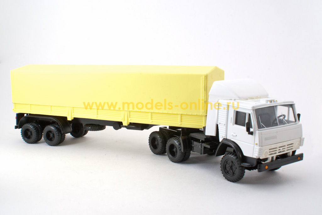 седельный тягач с полуприцепом, обзор марок и моделей