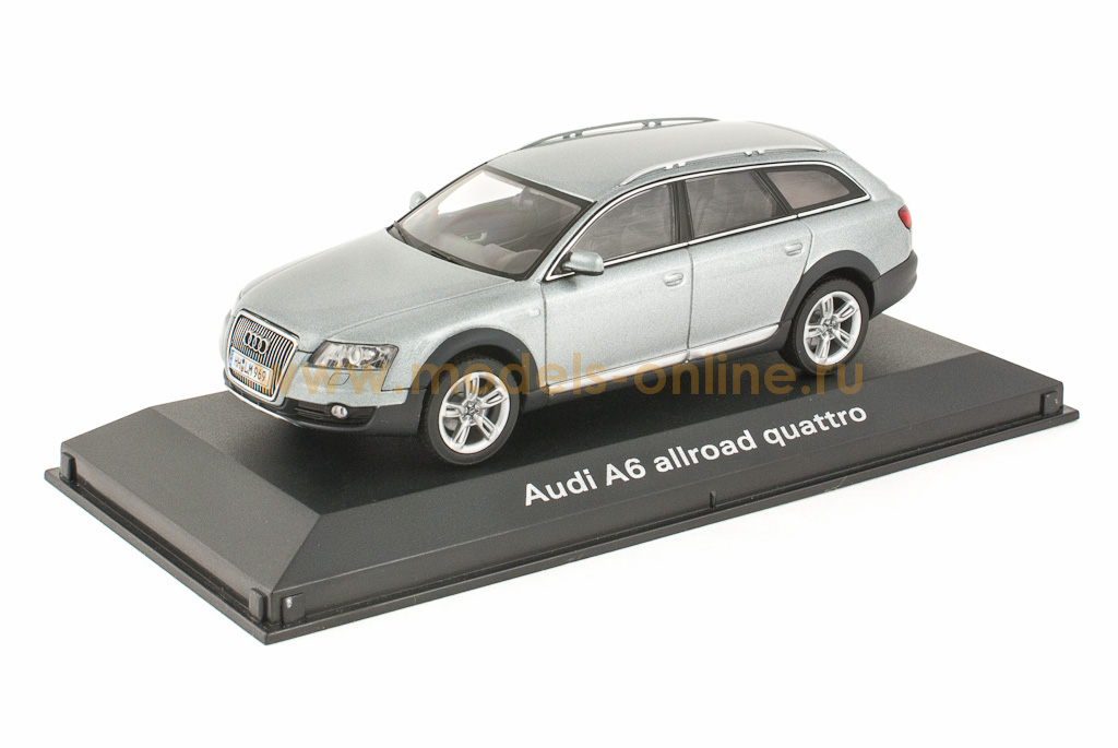 audi a6 allroad quattro 2007 quartz grey 1 43. Black Bedroom Furniture Sets. Home Design Ideas