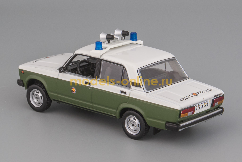 Масштабная модель ВАЗ-2105 «Жигули» (Lada 2105) Volkspolizei