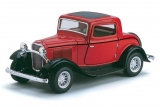 Ford 3-window Coupe - 1932 - 4 цвета в ассортименте 1:34