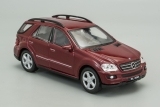 Mercedes-Benz ML350 (W164) - 2005 - вишневый 1:42