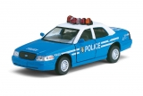 Ford Crown Victoria Police Interceptor - синий - без коробки 1:42