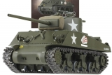 M4A3 (76 mm.) Sherman - США - 1944 г. - №19 с журналом 1:43
