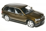 BMW X5 1999 - green metallic 1:43