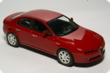 Alfa Romeo 159 2005 - red alpha 1:43