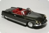Citroen DS 21 Convertible «Palm Beach» - 1966 - black sand henry chapron 1:43