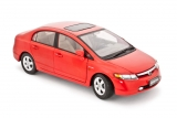 Honda Civic sedan - 2006 - red 1:18