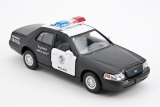 Ford Crown Victoria Police Interceptor - черный - без коробки 1:42