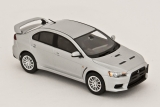 Mitsubishi Lancer Evolution X  GSR - cool silver metalic 1:43
