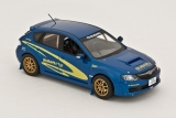 Subaru Impreza WRX STI Works Color 2008 - blue-yellow 1:43