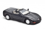 Chevrolet Corvette convertible 1999 г. - черный 1:43