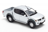 Mitsubishi L200 - sports hard-top removable - silver metallic 1:43