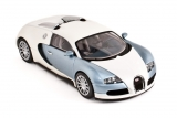 Bugatti EB 16.4 Veyron Production Car - 2005 - pearl/ice blue 1:43