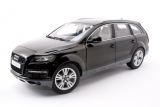 Audi Q7 facelift - 2011 - tief black 1:18