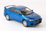 Mitsubishi Lancer Evolution X  GSR - lightning blue mica 1:43