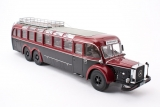 Mercedes-Benz O10000 bus - 1965 - black-red 1:43