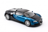 Bugatti EB 16.4 Veyron Production Car - 2005 - black/blue 1:43