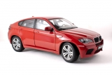 BMW X6M (E71M) 2009 - melbourne red 1:18