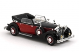 Horch 853A cabriolet - 1938 - black/red 1:43