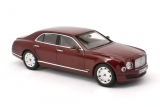 Bentley Mulsanne - 2010 - red metallic 1:43