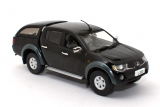 Mitsubishi L200 - sports hard-top removable - black mica 1:43