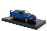 Mitsubishi Lancer Evolution IX - right hand drive - electric blue 1:43