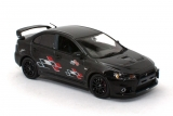 Mitsubishi Lancer Evolution X Ralliart - black 1:43