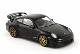 Porsche 911 (997 II) GT2 RS - 2010 - black w/gold wheels 1:43