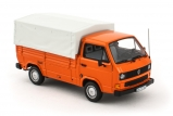 Volkswagen T3 Pritshe - orange 1:43