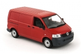 Volkswagen T5 Delivery Van - red 1:43