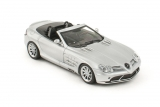 Mercedes-Benz SLR Mclaren Roadster  - crystal laurit silver 1:43