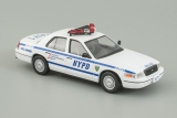 Ford Crown Victoria - New York City Police Department - 1998 - №7 с журналом 1:43