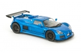 Gumpert Apollo - синий металлик - №59 с журналом 1:43