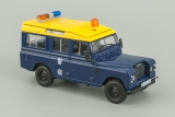 Land Rover 110 Long - Полиция Гонконга - №9 с журналом 1:43