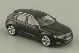 Audi A3 Sportback - phantom black 1:43