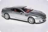 Aston Martin DB9 - dark grey with bordeaux interiors 1:43