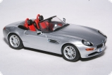 BMW Z8 metallic silver/red-black interiors 1:43