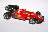 Ferrari 126C3 №28 Rene Arnoux German GP Hockh. 1983 1:43